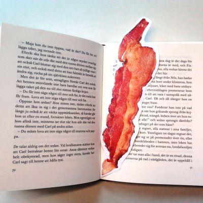 Baconbokmärke i boken