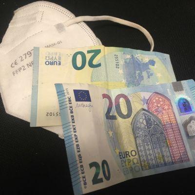 FFP-maski ja seteleitä