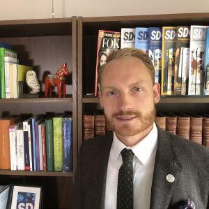 Aron Emilsson, sverigedemokrat