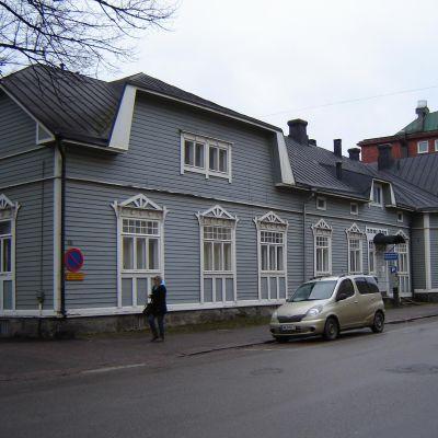 Trähuset vid Biskopsgatan 15 i Borgå