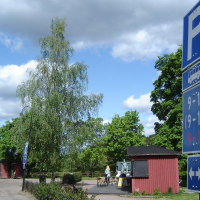 Bussparkering i Borgå