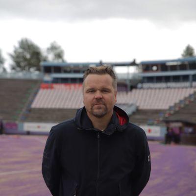 Superjymyn toimitusjohtaja Mikko Kuosmanen.
