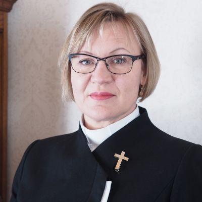 Länsi-Porin kirkkoherraksi 8.10.2020 valittu Helena Kuusiranta.