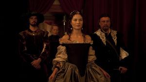 Malin Buska som drottning Kristina