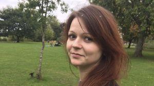 Den forne ryske dubbelagenten Sergej Skripals dotter Julia Skripal, på en bild från hennes Facebook-sida.