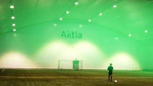 Aktia arenan i Ingå, interiör.