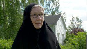 Moder Nektaria i Lintula kloster.