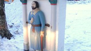 Fattiggubben vid Pedersöre kyrka