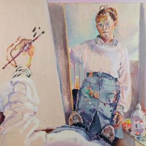 Självporträtt av Pauliina Turakka Purhonen