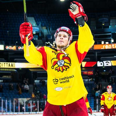 Mikko Lehtonen i Jokerit.