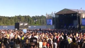 festivalmiljö