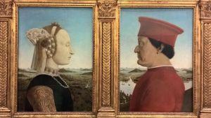 Piero della Francescan maalaus Frinzessä