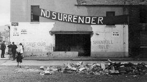 Gata i Shankill i Belfast 1970.