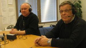 Mikael Metsämåki och Johannes Runeberg
