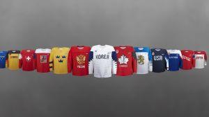 OS-hockeytröjorna.