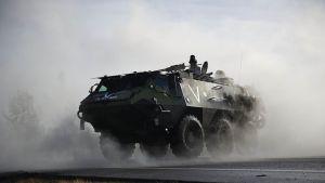 Nordic Battlegroup på övning i Sverige