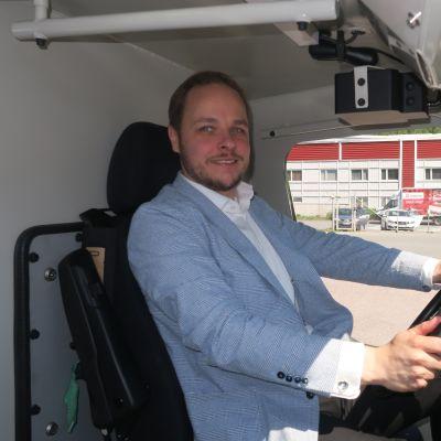 Patria Land Systems Oy:n liiketoimintajohtaja Jussi Järvinen