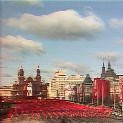 Lokakuun vallankumouksen 70-vuotisjuhlaparaati Moskovan Punaisella torilla vuonna 1987