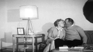 Gunnar Bärlund med frun Eva i New Jersey 1964.