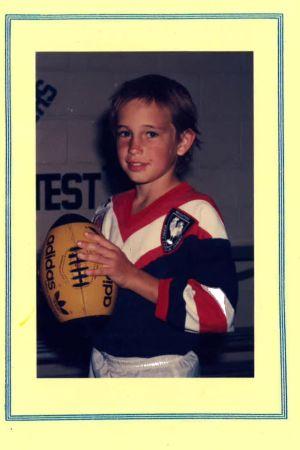 Trent Dalton 8 år gammal