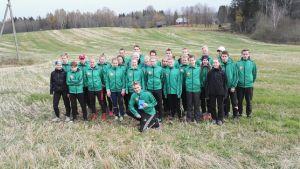 FSO-orienterare på läger i Estland.