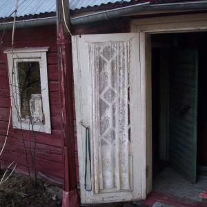 Denna gamla bastu finns på min dotters hemtomt i Pirkkala. Bastun är byggd ca 1930. Den eldas varje gång då vi är på besök. 4 timmar så är den klar för hela kvällen och följande morgon kan man ta sig ett morgonbad eller tvätt.