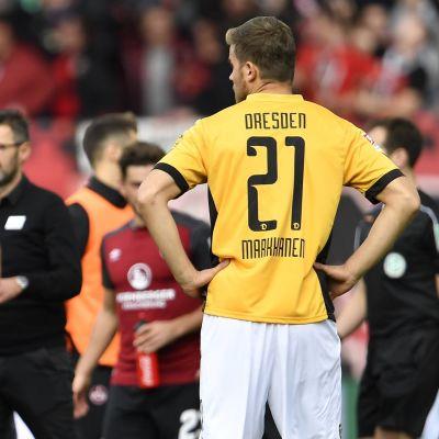 Eero Markkanen i Dynamo Dresden, 2017.