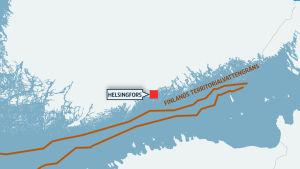Finlands territorialvattengräns