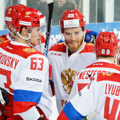 Ryssland jublar.