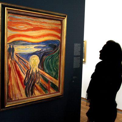 Den här versionen av Skriet stals 2004 från Munchmuseet i Oslo