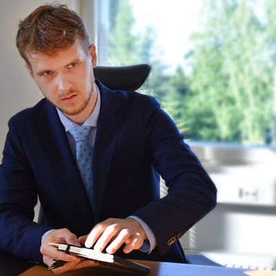 Eero Vainio aloitti Petäjäveden kunnanjohtajana elokuussa 2016.