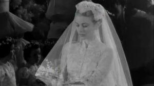 Grace Kelly häissään (1956).