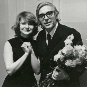 Lev Naumovin ja oppilas Moskovan konservatoriossa 1978.