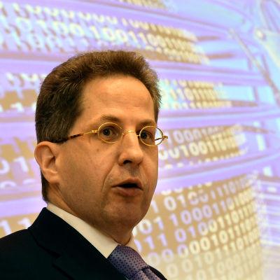 chefen för tysklands underrättelsetjänst hans-georg maassen