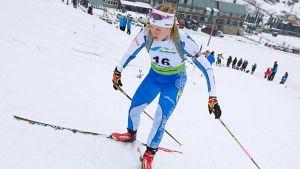 Heidi Nikkinen, junior-VM 2019.