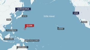 Guam i Stilla havet.