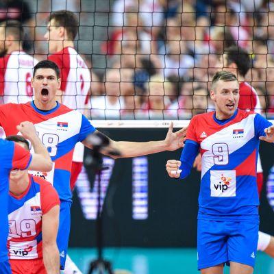 Marko Podrascanin Nikola Jovovic Serbia lentopallo volley