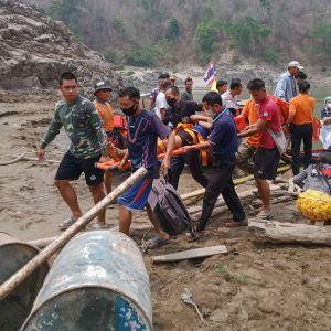 Tusentals människor har flytt från Karen-staten till grannlandet Thailand under de senaste dagarna.