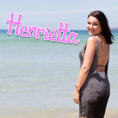Henrietta rannalla nimilogo