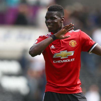 Paul Pogba tuuletti Swanseaa vastaan