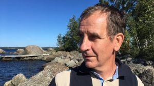 Specialplanerare Hans-Göran Lax, NTM-centralen i Södra Österbotten.