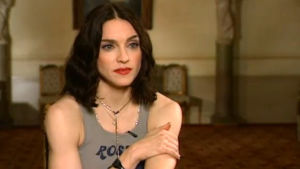 Madonna haastattelussa 1999.