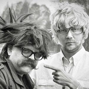Pedro Hietanen ja Pirkka-Pekka Petelius (1986).
