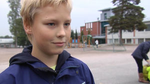 Henri Suihko, åk 5 i Mattlidens skola.