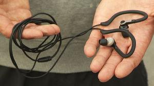 Sport-kuulokkeet (Clas Ohlson)