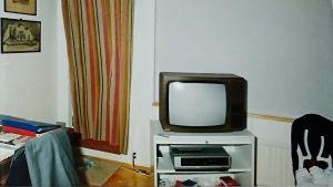 Bild från Wilhelm Högstens rum efter mordet.