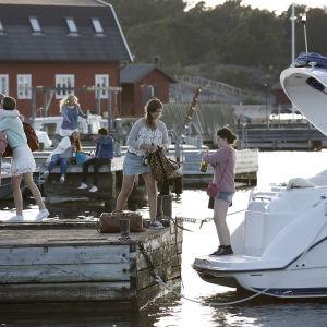 Morden i Sandhamn