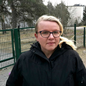 Porträttbild på Nina Aartokallio.