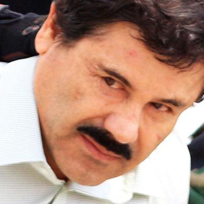 """Den mexikanska narkotikabossen Joaquín """"El Chapo"""" Guzmán."""
