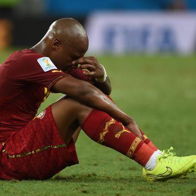 Ghana deppade trots oavgjort mot Tyskland.